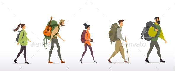 People Travel - Sports/Activity Conceptual