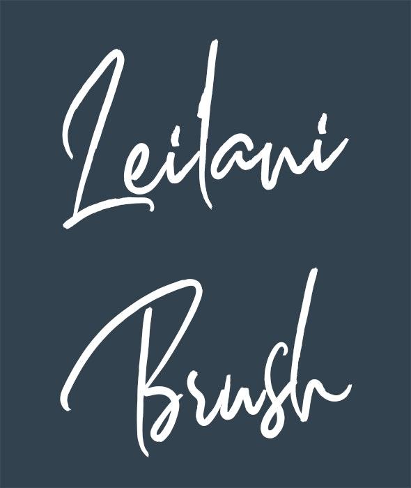 Leilani - Script Fonts