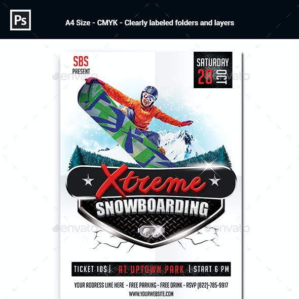 Snowboard Design Stationery And Design Templates