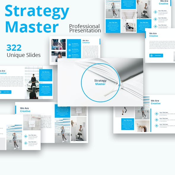 Strategy Master Premium Powerpoint Template