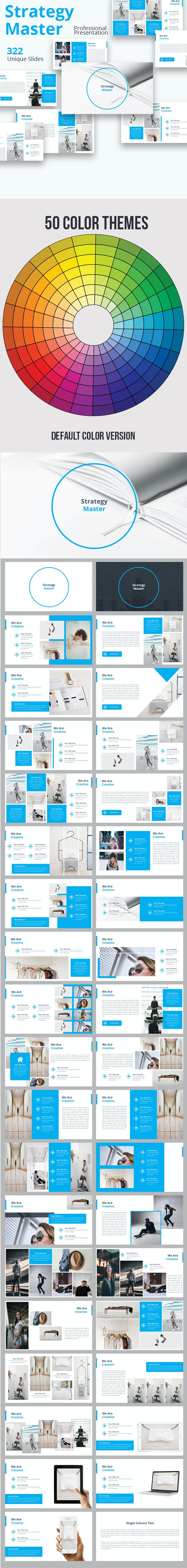 Strategy Master Premium Powerpoint Template By Loveishkalsi