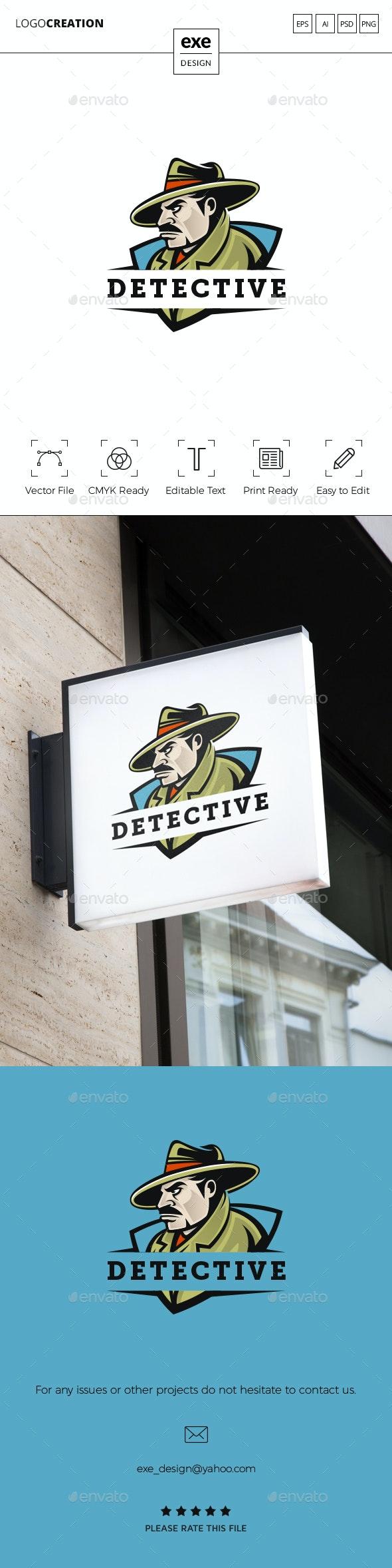 Detective Logo - Humans Logo Templates