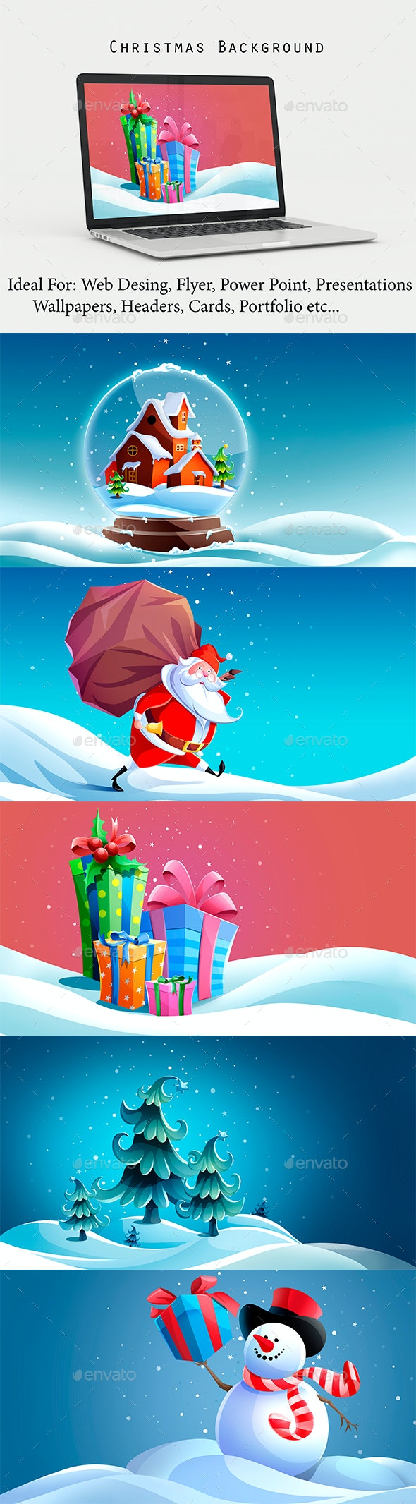 Christmas Background - Backgrounds Graphics