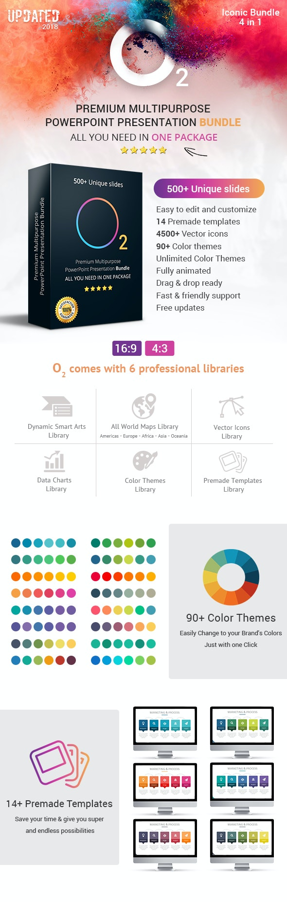 O2 Complete Business Solutions Top PowerPoint Templates Bundle - Business PowerPoint Templates