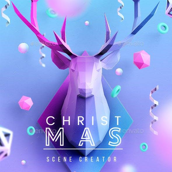 Christmas Scenes Creator
