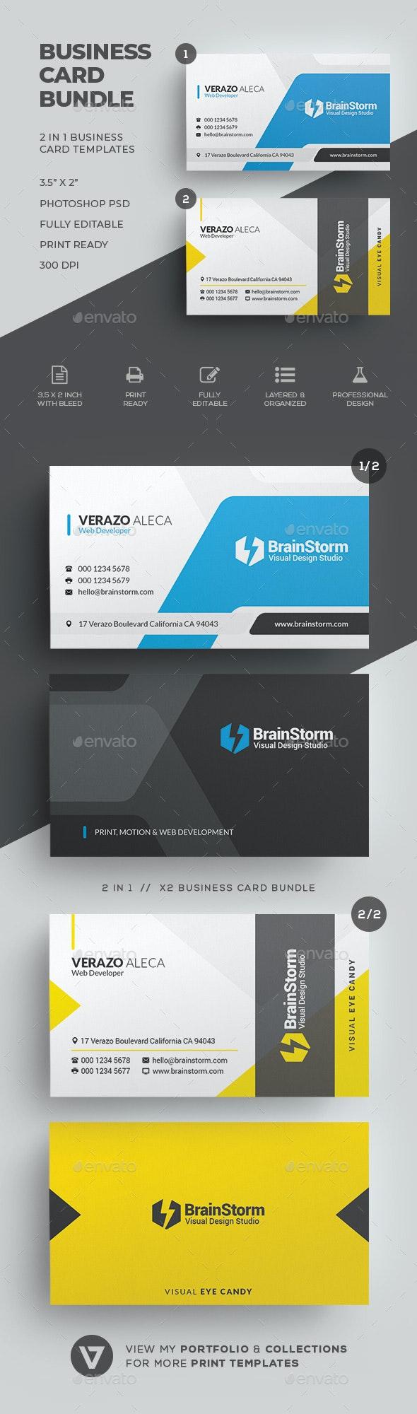 Business Card Bundle 61 - Corporate Business Cards