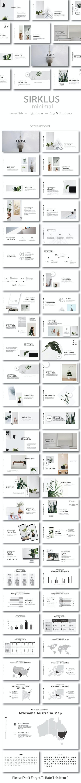 Sirklus Minimal Powerpoint - Creative PowerPoint Templates