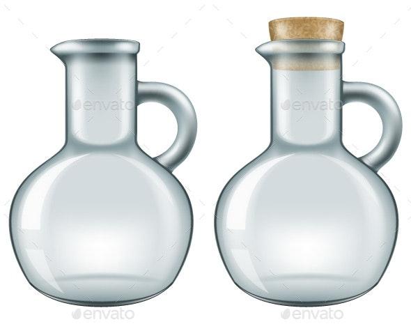 Glass Jar - Man-made Objects Objects