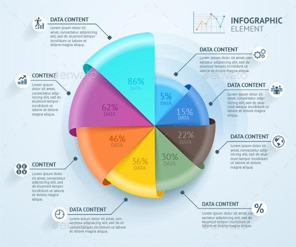 Business Infographics Circle - Infographics