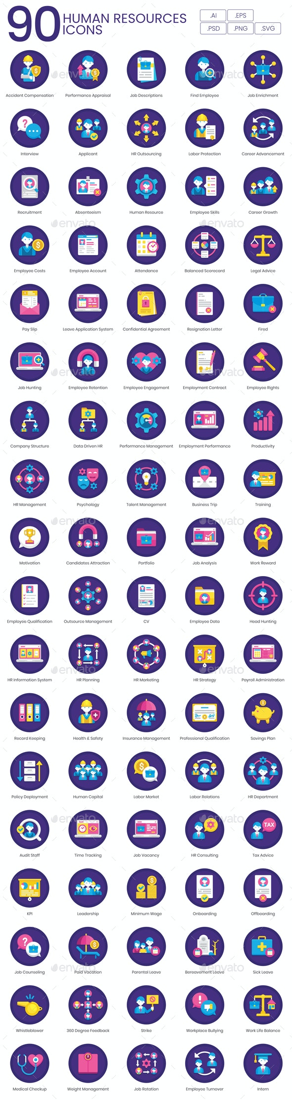HR Icons - Business Icons