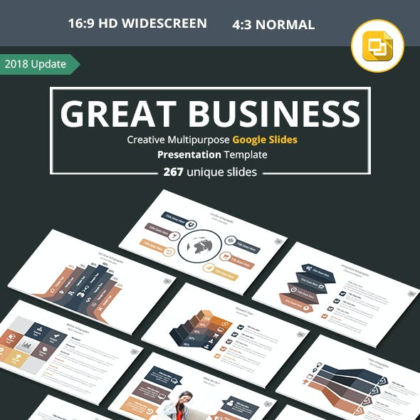 Business Multipurpose Google Slides Presentation Template