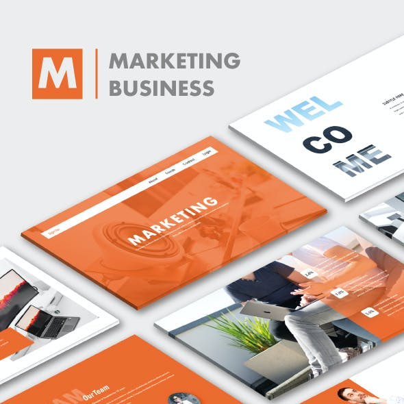 Marketing Business PowerPoint Templates