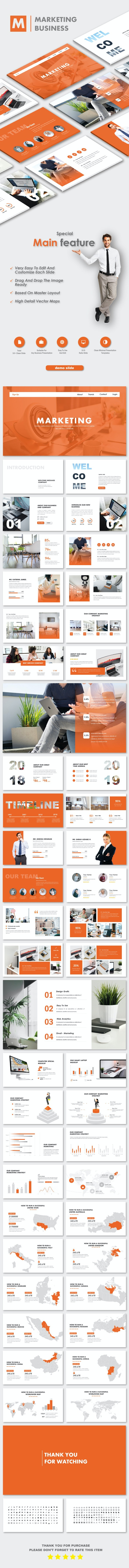 Marketing Business PowerPoint Templates - Business PowerPoint Templates