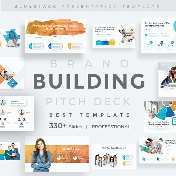 Building Brands Pitch Deck Keynote Template