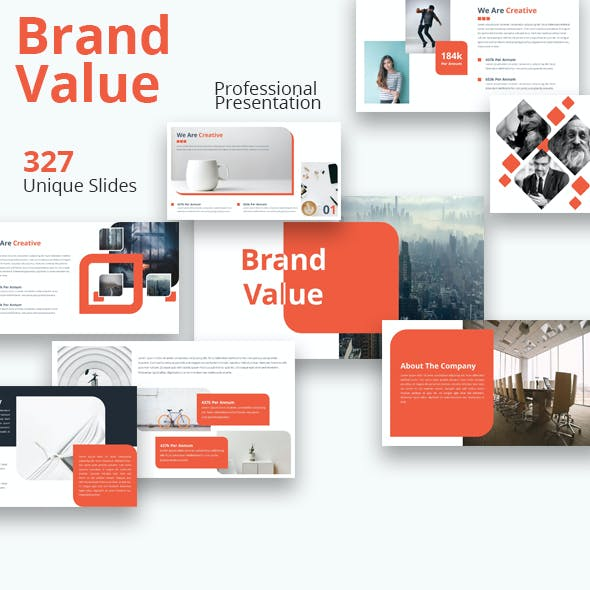 Brand Value Powerpoint Template