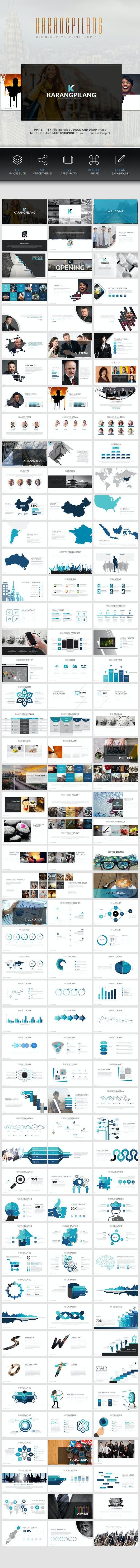 Karangpilang Powerpoint Template - Business PowerPoint Templates