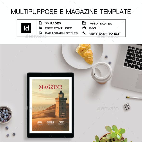Multipurpose E-Magazine V