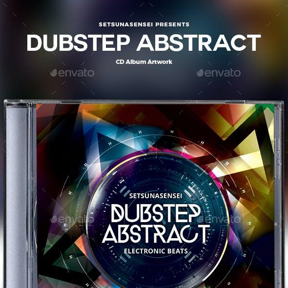 Dubstep Abstract CD Album Artwork