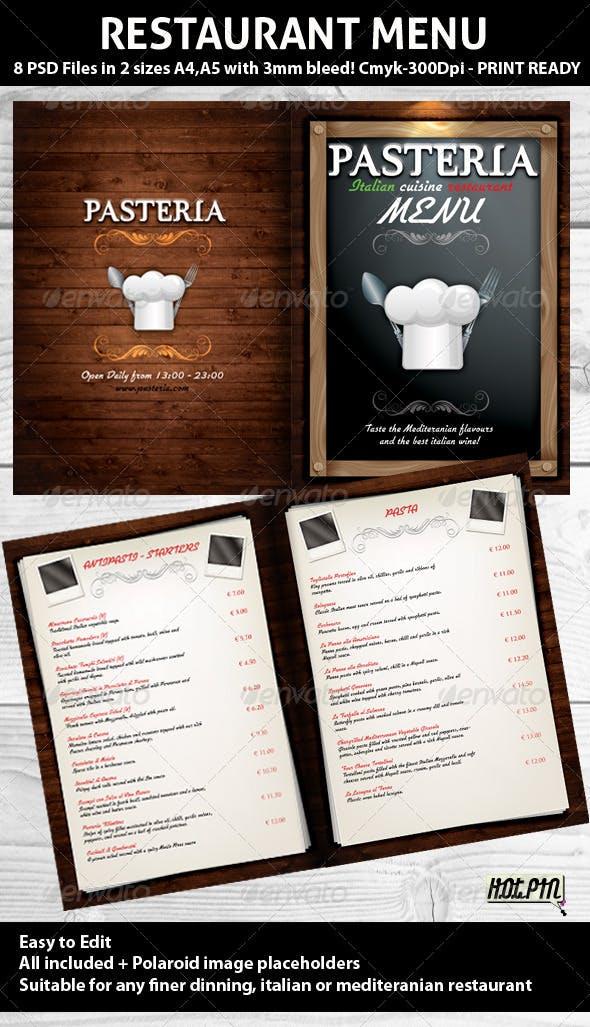Restaurant Menu Psd Template Food Menus Print Templates
