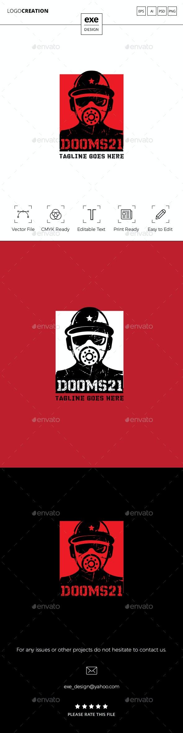 Gas Mask Logo - Humans Logo Templates