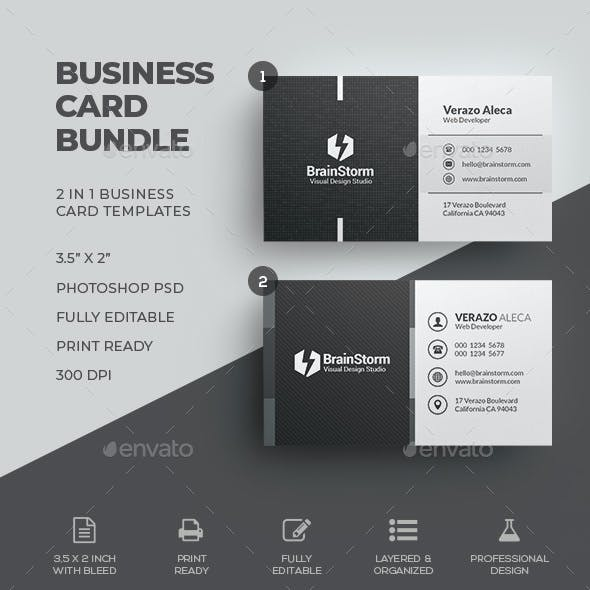 Business Card Bundle 62