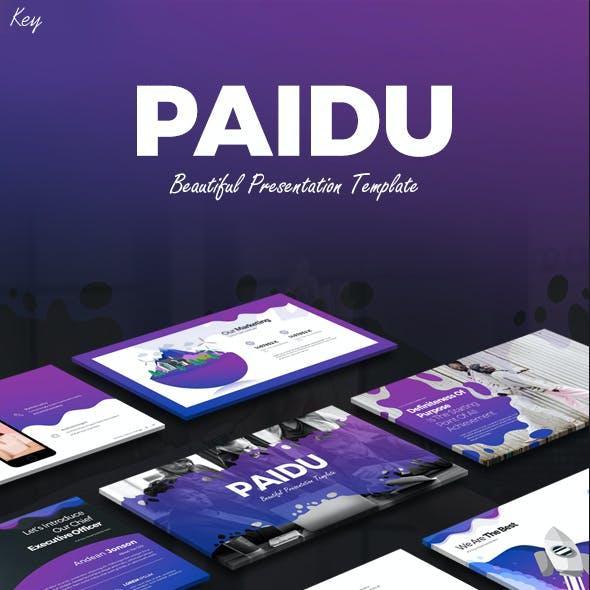 Paidu  Keynote Presentation