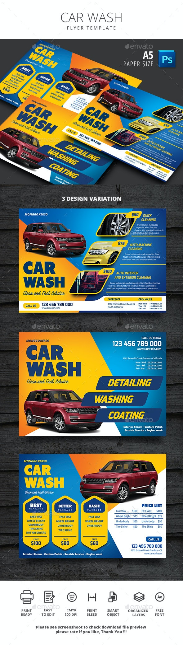 Car Wash - Commerce Flyers