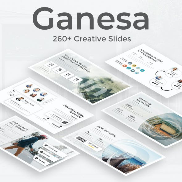 Ganesa Premium Keynote Template