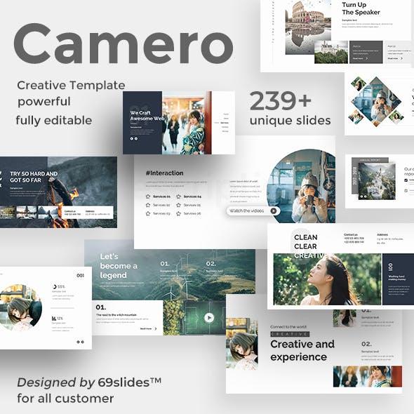 Camero Premium Powerpoint Template