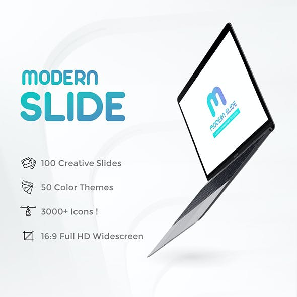 Modern Slide PowerPoint Presentation Template