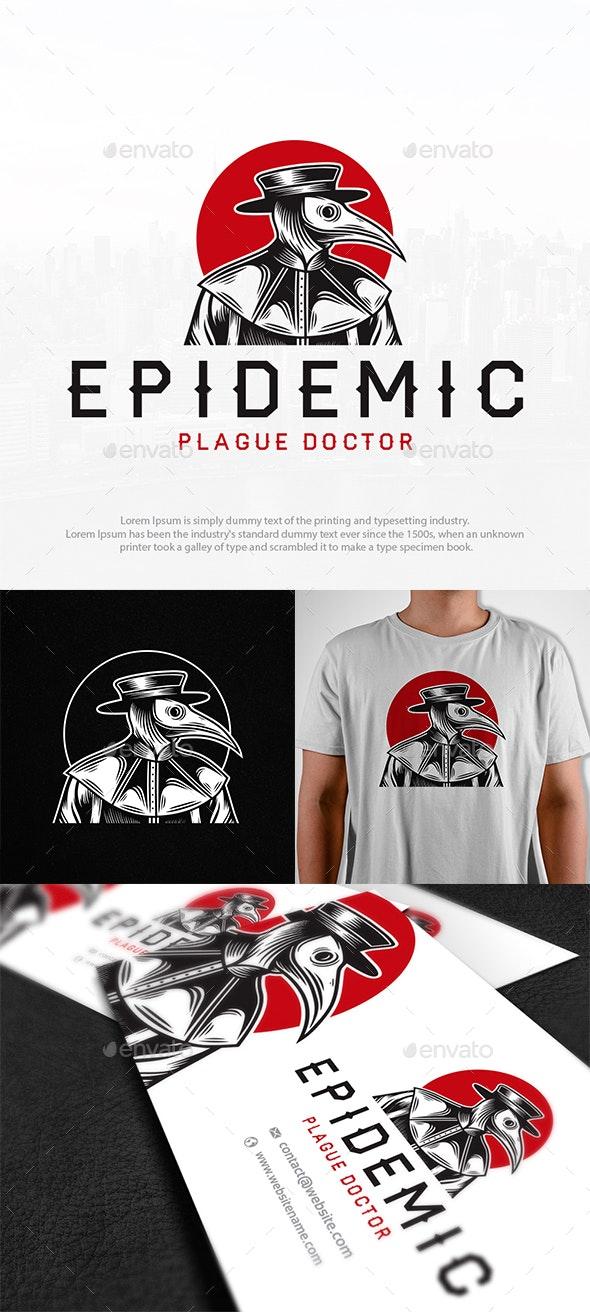 Plague Doctor Logo Template - Humans Logo Templates