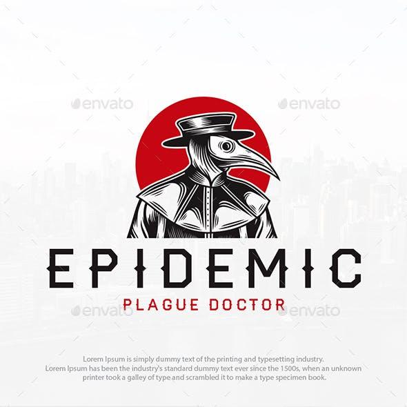 Plague Doctor Logo Template