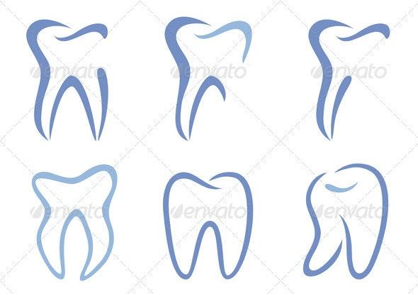 Vector Teeth - Health/Medicine Conceptual