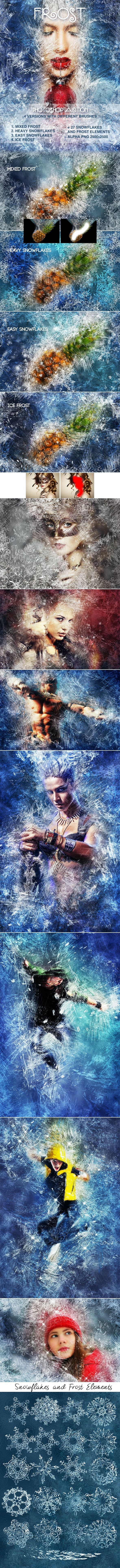 Frost Photoshop Action - Photo Effects Actions
