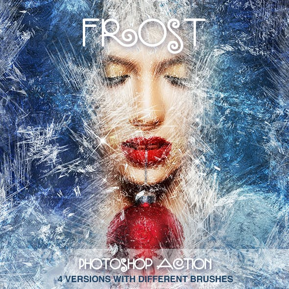 Frost Photoshop Action