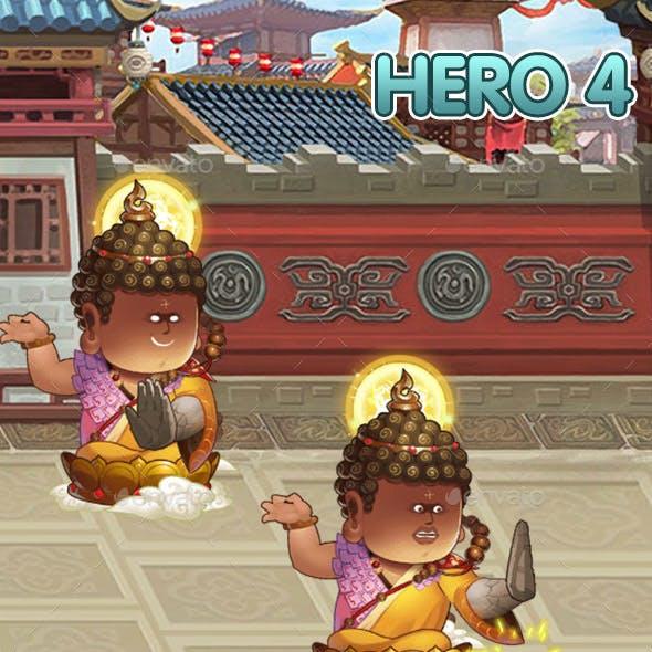 Hero 4 Sprite Set - Spine