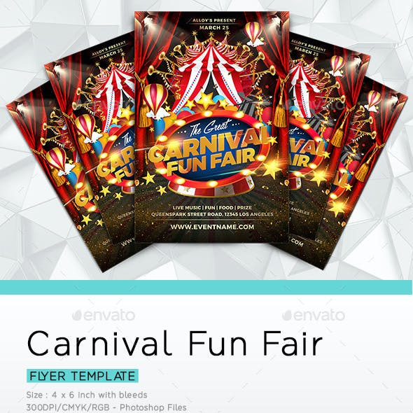 Carnival Fun Fair Flyer
