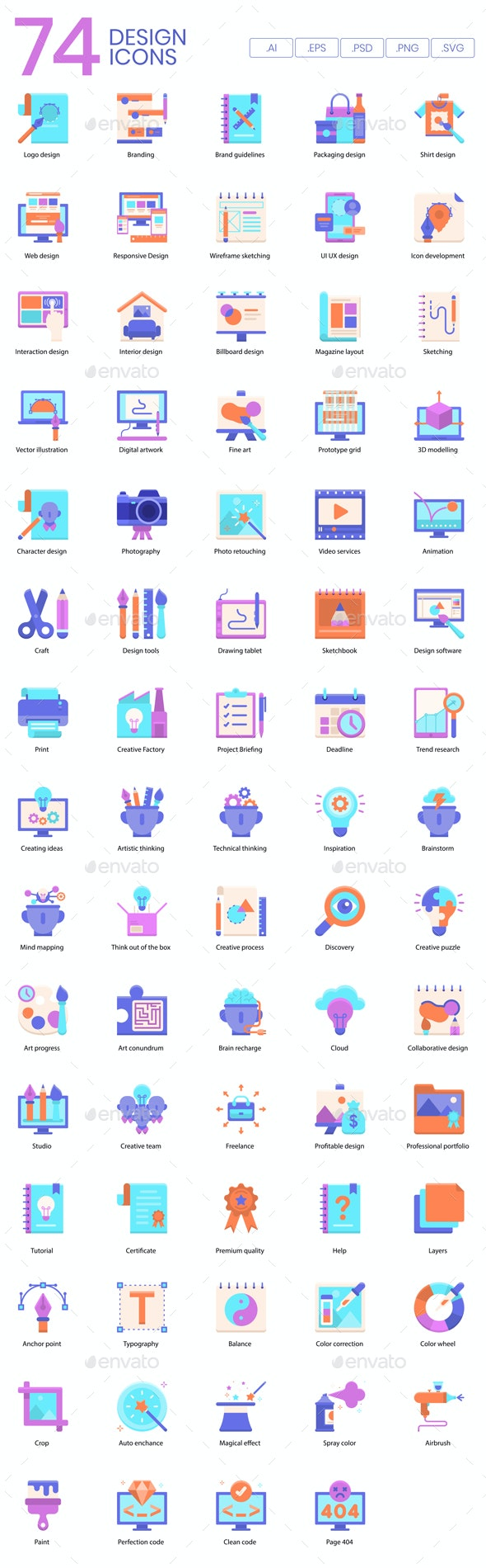 Creative Design Icons - Business Icons