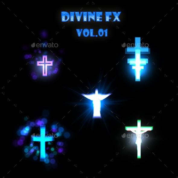 Divine FX Vol 02 - Sprites Game Assets