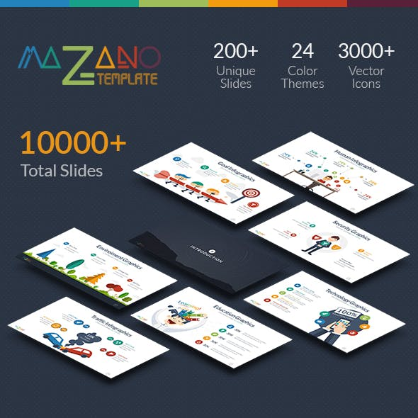 Mazano - Multipurpose Keynote Template