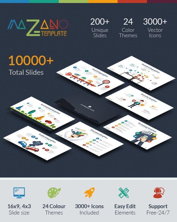 Mazano - Multipurpose Powerpoint Template - Business PowerPoint Templates