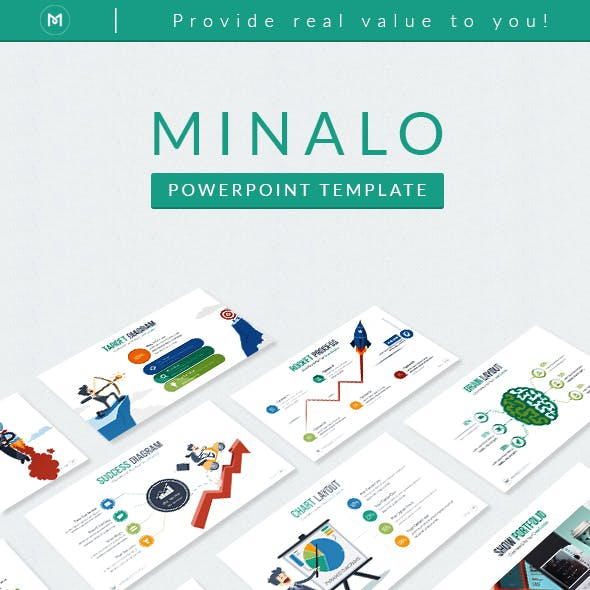 Minalo - Business Powerpoint Template