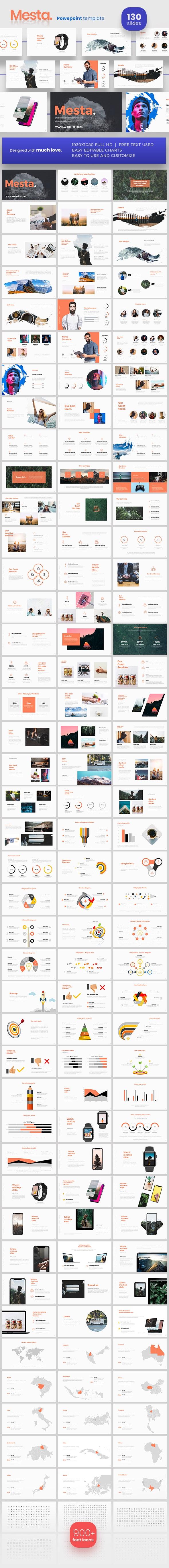 Mesta Powerpoint Presentation Template - PowerPoint Templates Presentation Templates