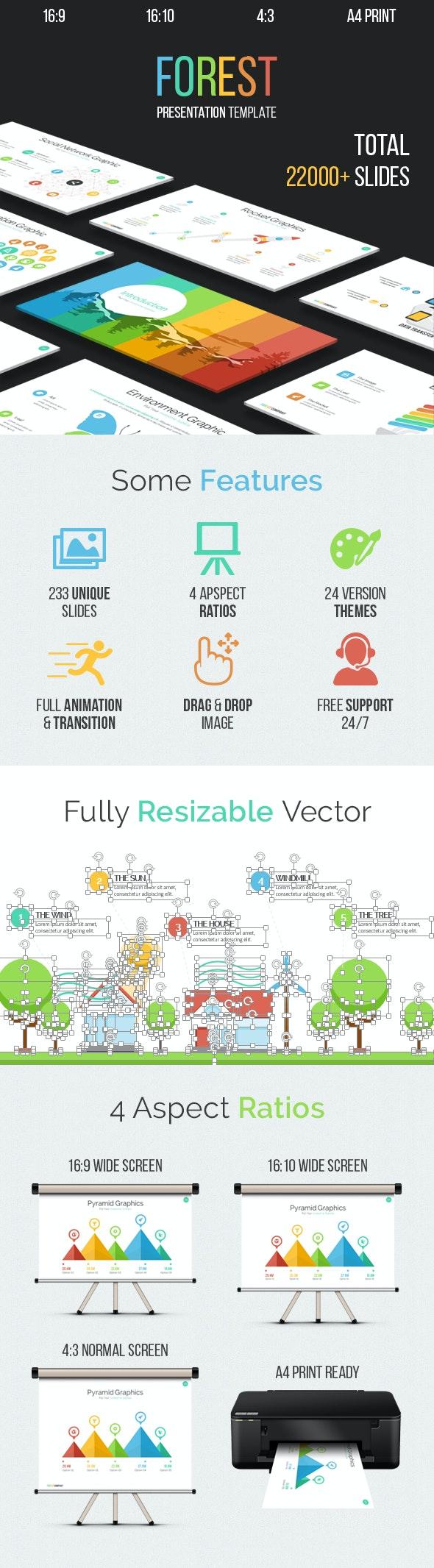 Forest - Multipurpose Keynote Template - Business Keynote Templates