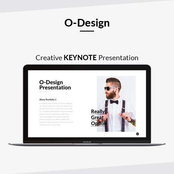 O-Design Creative Keynote Presentation