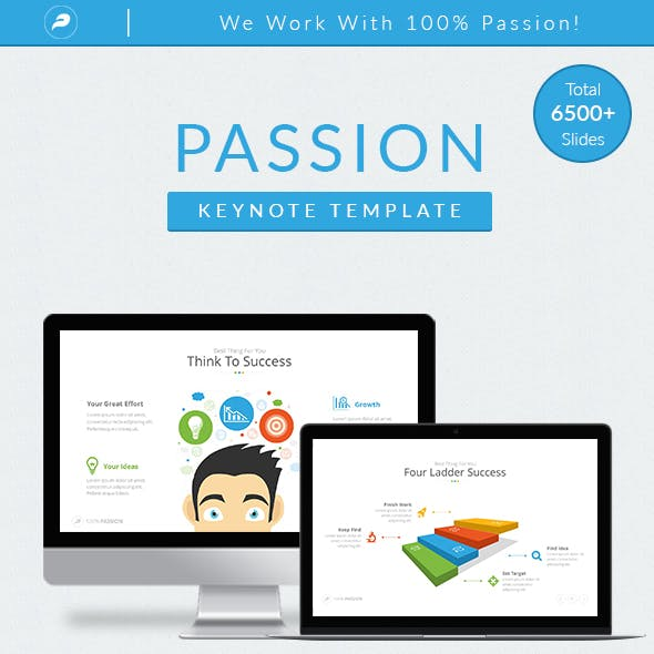 Passion - Multipurpose Keynote Template
