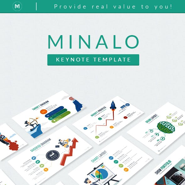 Minalo - Business Keynote Template