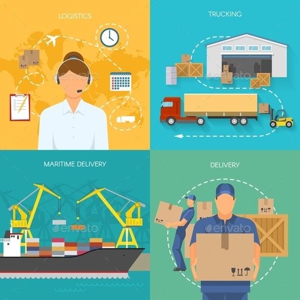 Logistics Flat Compositions - Computers Technology