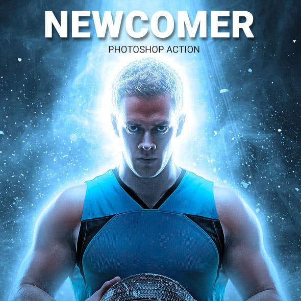 Newcomer Photoshop Action