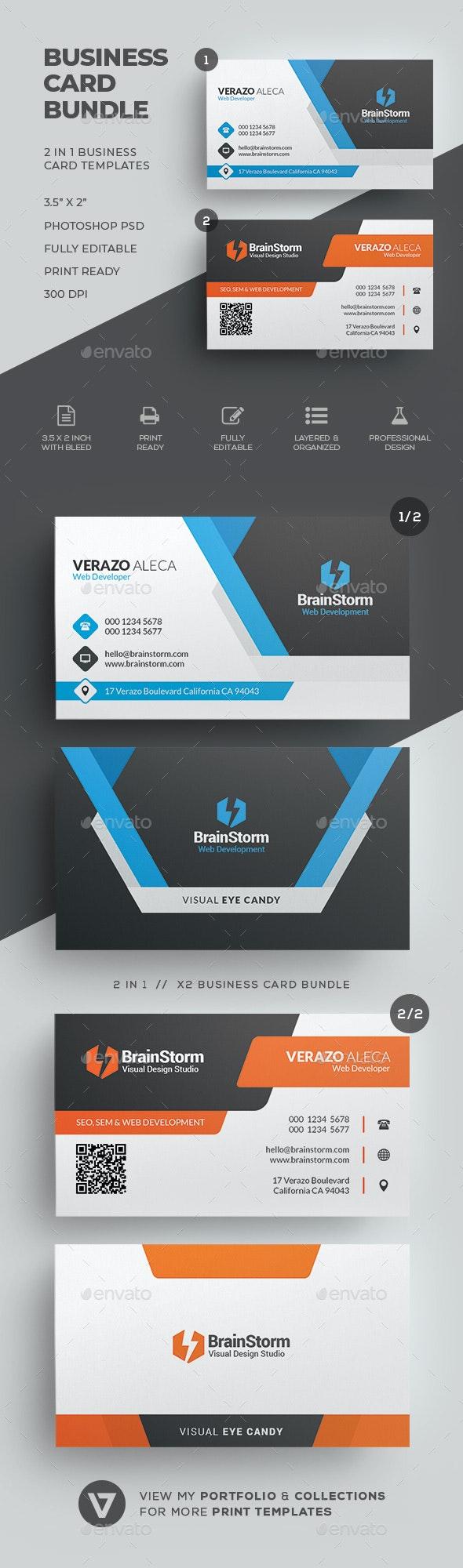 Business Card Bundle 63 - Corporate Business Cards